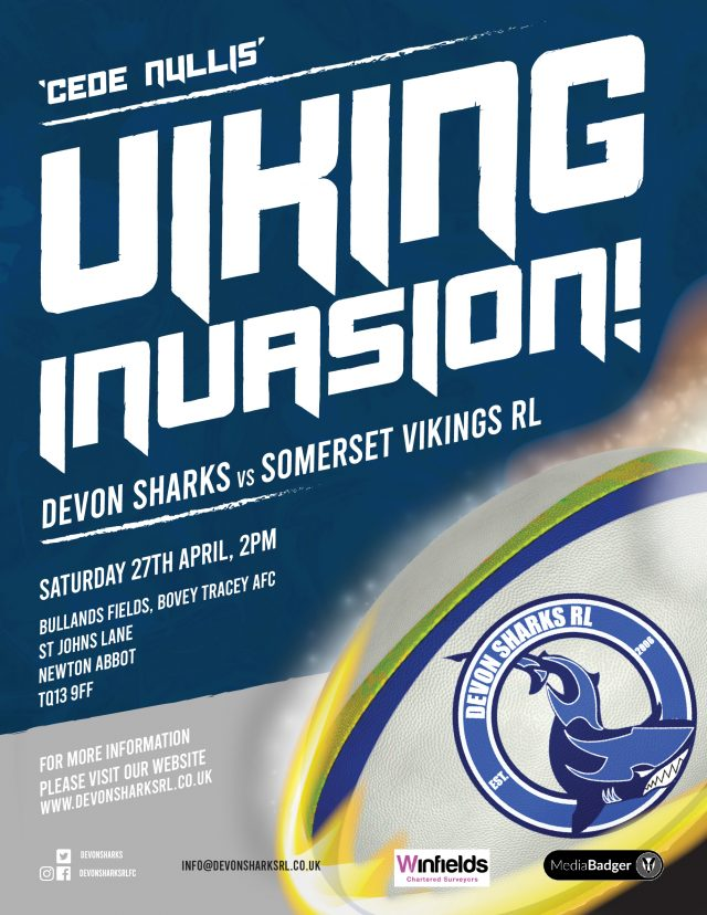 Sharks Vs Somerset Vikings RL Friendly